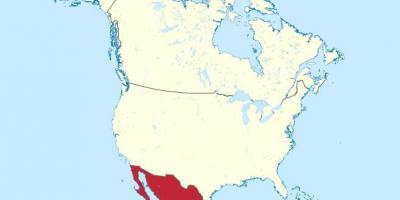 mapa mexiko eta hego amerika mapa mexikoko hego amerikan erdialdeko amerika amerikaren